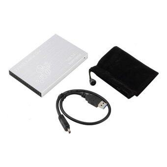 2pcs*CHEER USB 3.0 Super Speed 2.5 SATA TS-25HC307 HDD Hard Disk Enclosure External Case Box Silver (Intl)