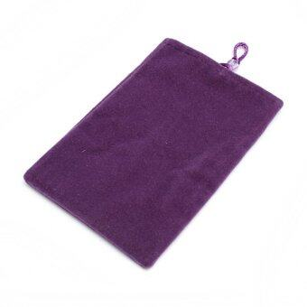 "Soft Carry Case Cover Pouch Protection Inner Bag for 2.5"" USB Hard Disk Drive Purple - Intl"