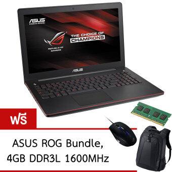 "ASUS ROG G550JK-CN578D 15.6"" Gaming Notebook Computer (Black) แถมฟรี Ram Kingston 4GB DDR3L 1600MHz"