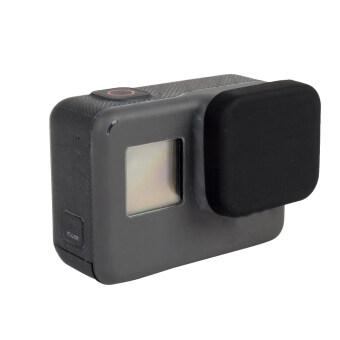 ใหม่ ๆ การป้องกันฝาครอบเลนส์ซิลิโคนเคสสำหรับ Gopro Hero 5 กล้องสีดำ