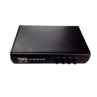 LTM TAFN กล่อง AV. Selector รุ่น-SAV-402 - สีดำ