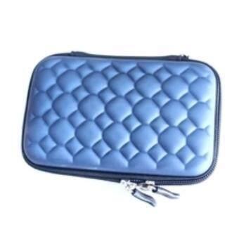harddisk bag กระเป๋าสำหรับ Hard Disk Drive 2.5 HDD แบบพกพา สีน้ำเงินเข้ม