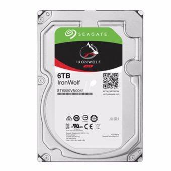 SEAGATE HDD - HARD DISK INTERNAL 6.0TB SATA-III (ST6000VN0041) IRONWOLF