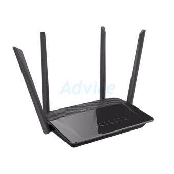 Router D-LINK (DIR-842) Wireless AC1200 Dual Band Gigabit (สีดำ)