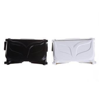 HengSong Portable Mini 3D VR Glasses Virtual Reality Glasses White - intl