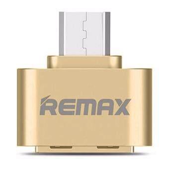 Remax OTG Adapter RA-OTG USB (สีทอง)