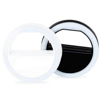 DT Selfie Ring Light Camera LED Baterry AAA ไฟไม้เชลฟี่ (ขาว)