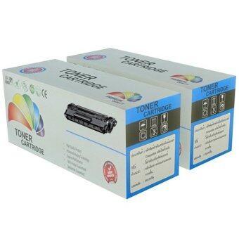 Color Box Brother Toner TN-1000 ,HL-1110,HL-1112,DCP-1510,DCP-1512,MFC-1810,MFC-1815 2 กล่อง (สีดำ)