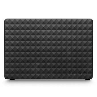 Seagate Expansion Steb4000300 4TB USB3.0 High-Speed 3.5-Inch Portable Solid Hard Drive For Desktop Laptop Black - intl