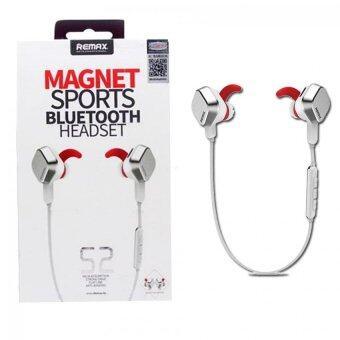 Remax หูฟัง Magnet Sport Blue Tooth Headset ไร้สาย บลูทูธ รุ่น S2 (White)