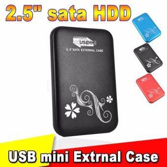กล่องใส่ฮาร์ดดิส usb 3.0 External Box 2.5 Sata For HDD.Notebook (Black)