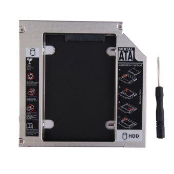 HAOFEI Universal 12.7mm SATA to SATA 2nd HDD Drive Caddy CD/DVD-ROM Optical Bay - Intl - intl