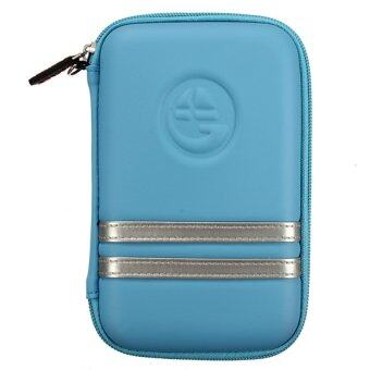 S & F Bag Cover Protector for TOMTOM Garmin GPS HDD 5-inch (Blue)