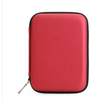 """Jetting Buy Hard Carry Bag Compartment Case Bag Pouch Protection for 2.5"""" Hdd Hard Disk"""