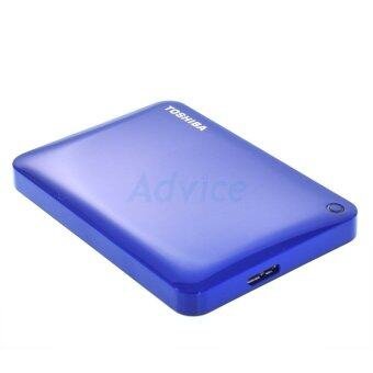 Toshiba Hard Disk External 2.5 Canvio Connect II (1 TB.) Blue ของแท้