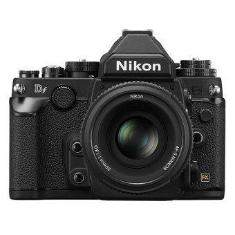 Nikon DF Black DSLR Full Frame Camera with 50mm 1.8G Lens Kit