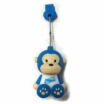 Meedy USB 2.0 Flash Drive 8 GB Memory Stick Cartoon Monkey (Blue) (image 0)