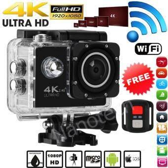 Nanotech 2016 กล้องกันน้ำ ถ่ายใต้น้ำ พร้อมรีโมท Sport camera Action camera 4K Ultra HD waterproof WIFI FREE Remote