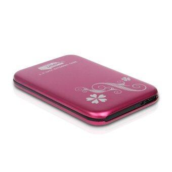External Box 2.5 Sata For HDD.Notebook Usb 2.0 (Pink)