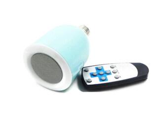 ideecraft ลำโพง Bluetooth LED รุ่น SPBL2 - blue sky