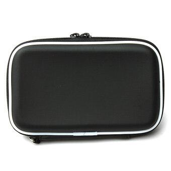 6.35ซมฮาร์ดดิสก์ไดร์ฟฮาร์ดดิสก์ไดรฟ์ภายนอกฝากระเป๋าถือกระเป๋าเดินทางฉนวนอย่างเคส (สีดำ)