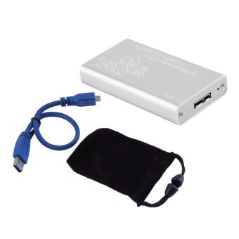 CHEER Mini mSATA to USB 3.0 SSD Hard Disk Box External Enclosure Case with Cable