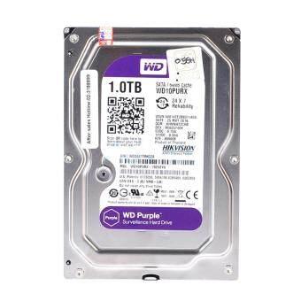 Western Hard Disk 1 TB. SATA-III Hikvision Purple (64MB, TCT) For CCTV