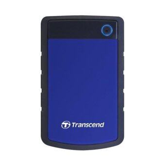 TRANSCEND StoreJet 25H3 (USB 3.0) 1TB สีน้ำเงิน