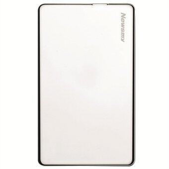 Newsmy Mini Card 60G USB 2.0 1.8-Inch Ultra-Thin Portable Fashionable Metal Mobile Hard Disk Silver - intl