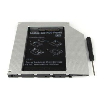 อุปกรณ์พ่วง ฮาทดิสภายนอก Second HDD CADDY SATA 9.5mm บาง (โน๊ตบุ๊ครุ่นใหม่) (black)