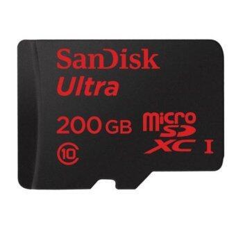 SANDISK DIGITAL MEDIA CARD 200 GB. MICRO SD CARD Ultra Class10 (SDSDQUAN_200G_G4A)