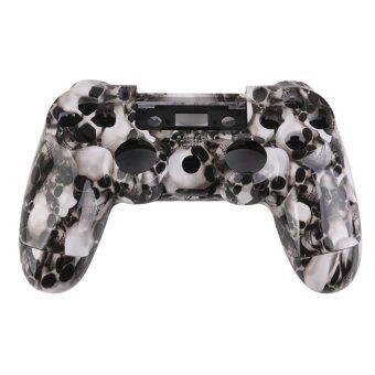 ค้นหา RIS White Skull Controller Shell Housing Case Kit w Button for PlayStation4 PS4 ของใหม่