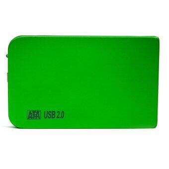 2.5 Inch Shockproof USB 2.0 External Storage SATA Hard Drive Disk HDD Case Enclosure Box Green - Intl