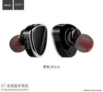 HOCO E7 หูฟังบลูทูธ ไร้สาย Premium Earphone Bluetooth V4.1