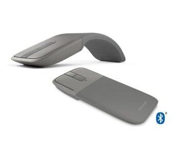Microsoft Arc Touch Bluetooth Mouse - 7MP-00006 Gray - สีเทา