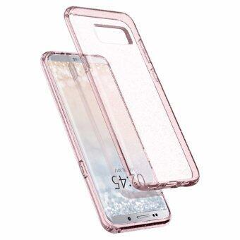 SPIGEN เคส Samsung Galaxy S8 Plus Case Liquid Crystal Glitter : Rose Quartz (image 1)