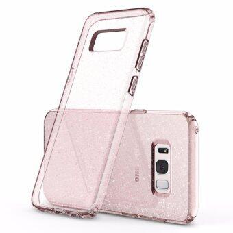 SPIGEN เคส Samsung Galaxy S8 Plus Case Liquid Crystal Glitter : Rose Quartz (image 3)