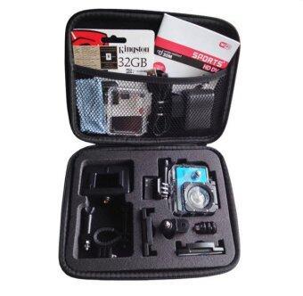 TK.SPY SJCAM Bag กระเป๋าใส่กล้อง SJCAM Sport Cam or GOPRO size L (สีดำ)