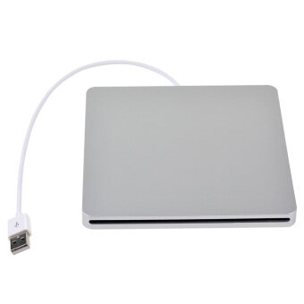 USB External DVD/RW Optical Drive Caddy for Laptop (Silver)
