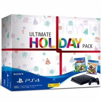 Sony PlayStaion4 PS4 Slim Ultimate Holiday Pack 500G ประกัน Sony Thailand