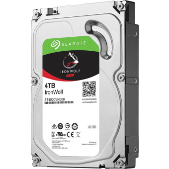 """SEAGATE IronWolf HDD 3.5"""" 4TB SATA-III 5900rpm Cache 64MB for NAS Box"""