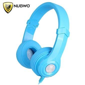 NUBWO หูฟังแบบครอบ NT-910 (สีฟ้า)