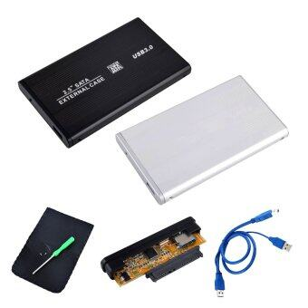 กล่อง Harddisk พกพา External Harddisk 3.0 USB 3.0 HDD Case Hard Drive SATA External Enclosure Box Hard Disk Drive Case Box Random Color