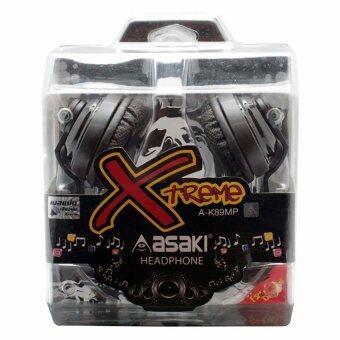 หูฟังสเตอริโอ A-K89MP - Black