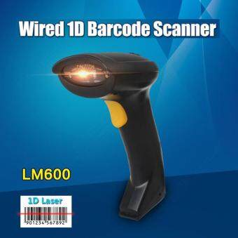 Portable USB Laser Scan Barcode Scanner Bar Code Reader Handheld POS For PC HOT - intl