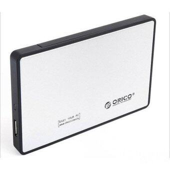 Ultra-thin 2.5 Inch ORICO 2588US3 USB 3.0 eSATA External Hard Disk Enclosure (Silver)