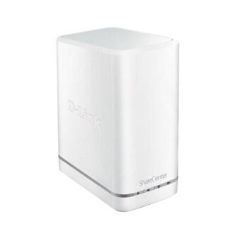 D-Link ShareCenter+ 2-Bay Cloud Network Storage Enclosure DNS-327L (White)