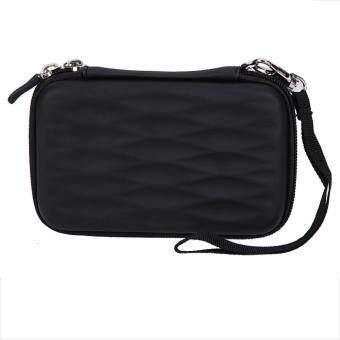 Hard EVA PU Carrying Case Bag for 2.5 inch Portable External Hard Drive (Black) - intl