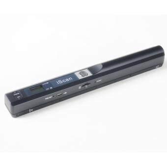 The portable scanner A4 scanner 900DPI JPG/PDF black - intl
