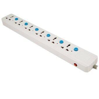 Macnus ปลั๊กต่อพ่วงไฟฟ้า 3 เมตร 6 ช่อง (สีขาว)